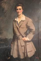 1920's Society Portrait Scottish Sporting Lady
