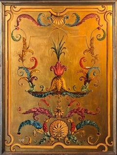 Paris Theatre Painted Panel