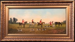 The English Fox Hunt Oil Painting