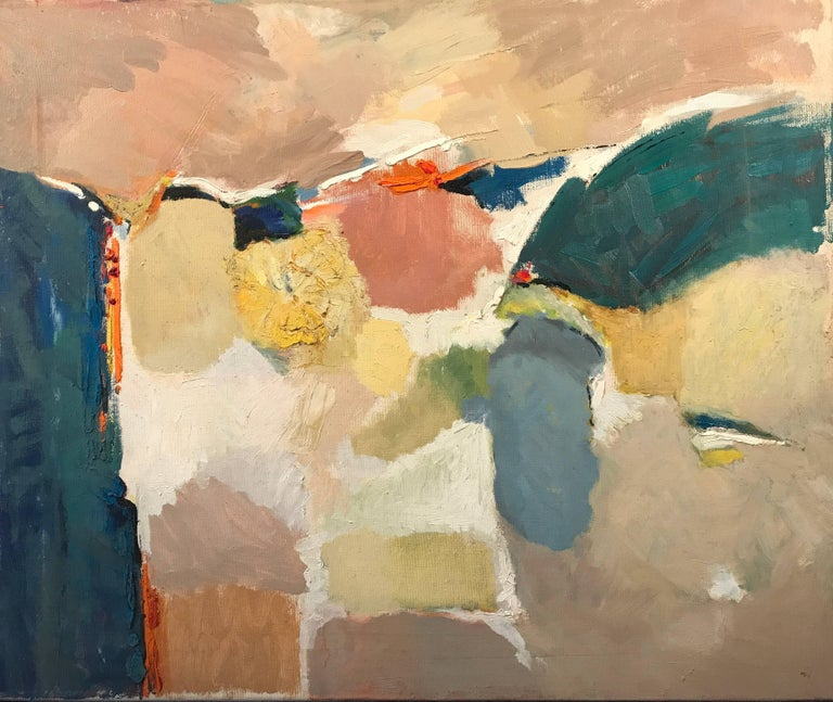 Mid 20th Century British Abstract Oil Painting