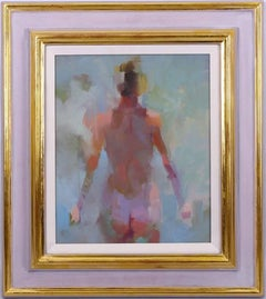 Impressionist Oil Painting Nude Lady