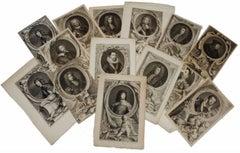 Earls & Dukes - Collection of 25 Eighteenth Century Engravings British Aristo's