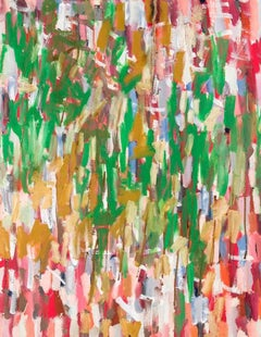 Colourful Impact Abstract Oil Painting