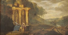 17th Century Old Master Christ & The Lady at the Well