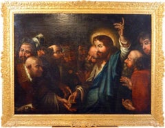 Circle of Rubens Huge Old Master Oil Painting - Pay unto Caesar