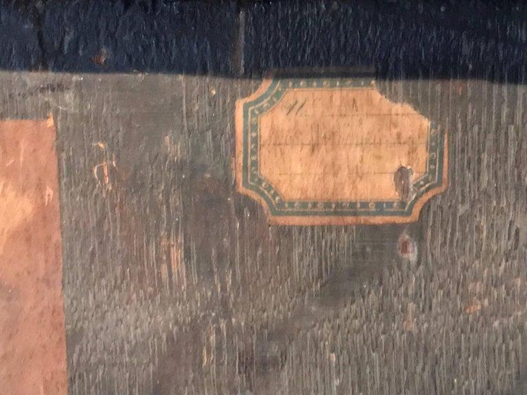 17th Century Flemish Old Master Oil on Oak Panel - Head of Christ 5