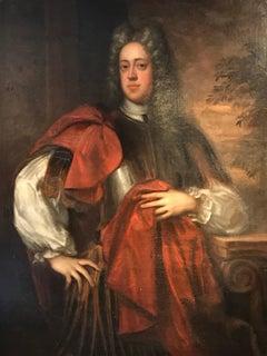 Viscount Allen (1728-1816), 18th century Oil Painting
