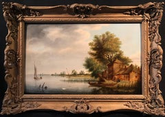Circle of Salomon van Ruysdael Dutch Golden Age Old Master