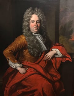 Circle of Sir Godfrey Kneller, Portrait of an Aristocrat