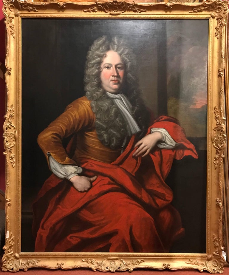 Circle of Sir Godfrey Kneller, Portrait of an Aristocrat 2