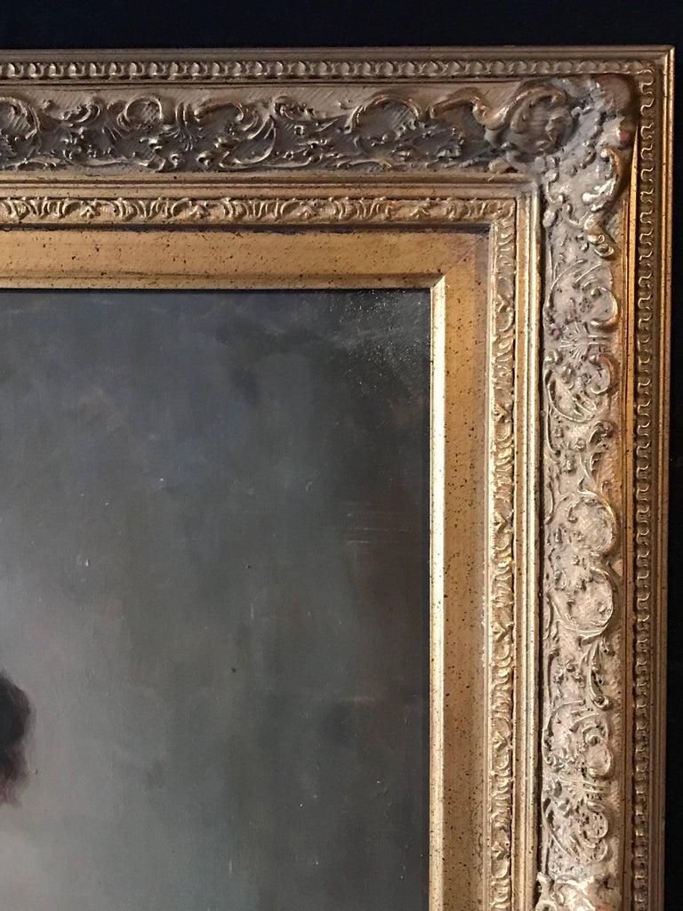 Portrait of a 17th Century Dutch Golden Age Gentleman For Sale 1