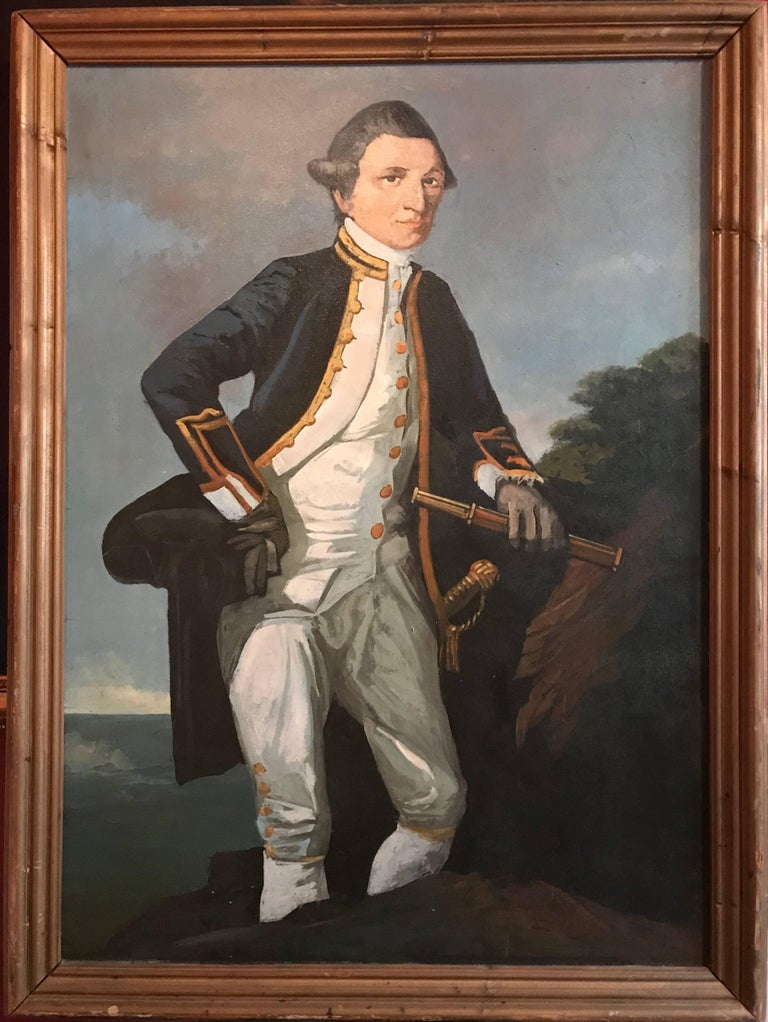 Captain James Cook - Painting by Unknown