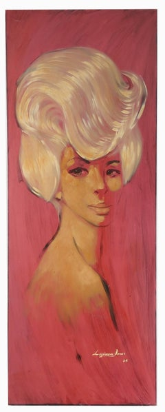 Portrait of a Blonde, circa 1965