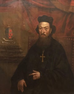 Continental Old Master - 18th Century Portrait of an Orthodox Archimandrite