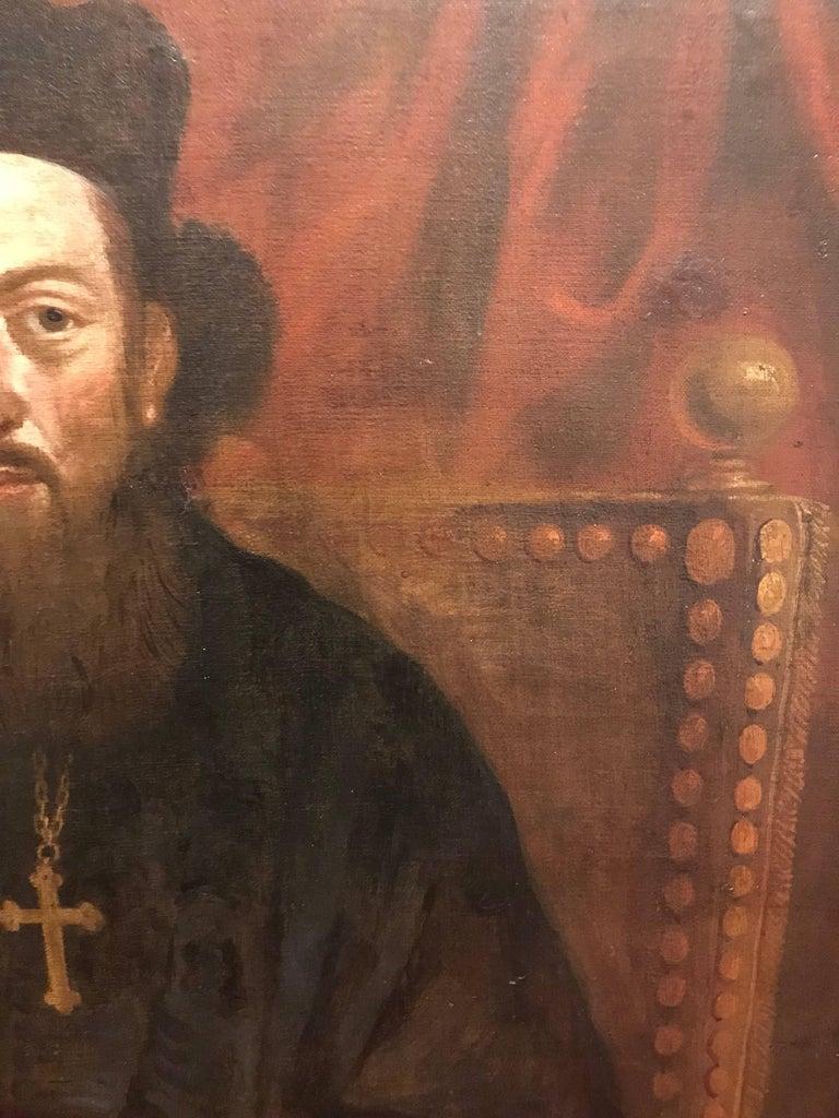 18th Century Portrait of an Orthodox Archimandrite 6