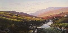 Scottish Highland Landscape, Signed Oil