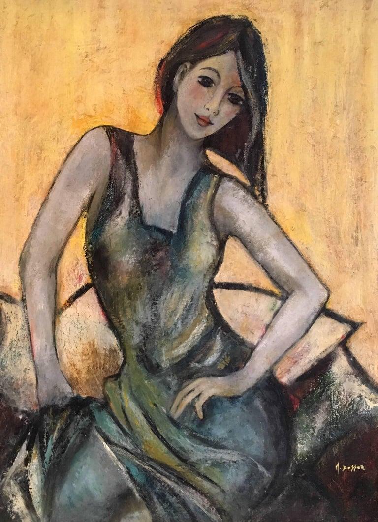 """""""Le Pattiwork"""" Stylish Woman, Portrait"""