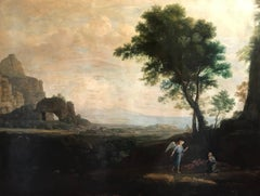 Enormous Classical Landscape, Hagar & The Angel