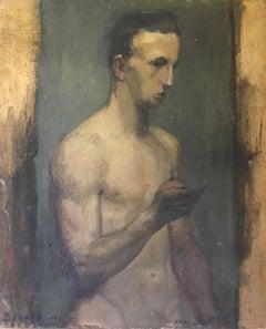 Atelier DUPAS, Fine Impressionist Portrait, Signed Oil Painting