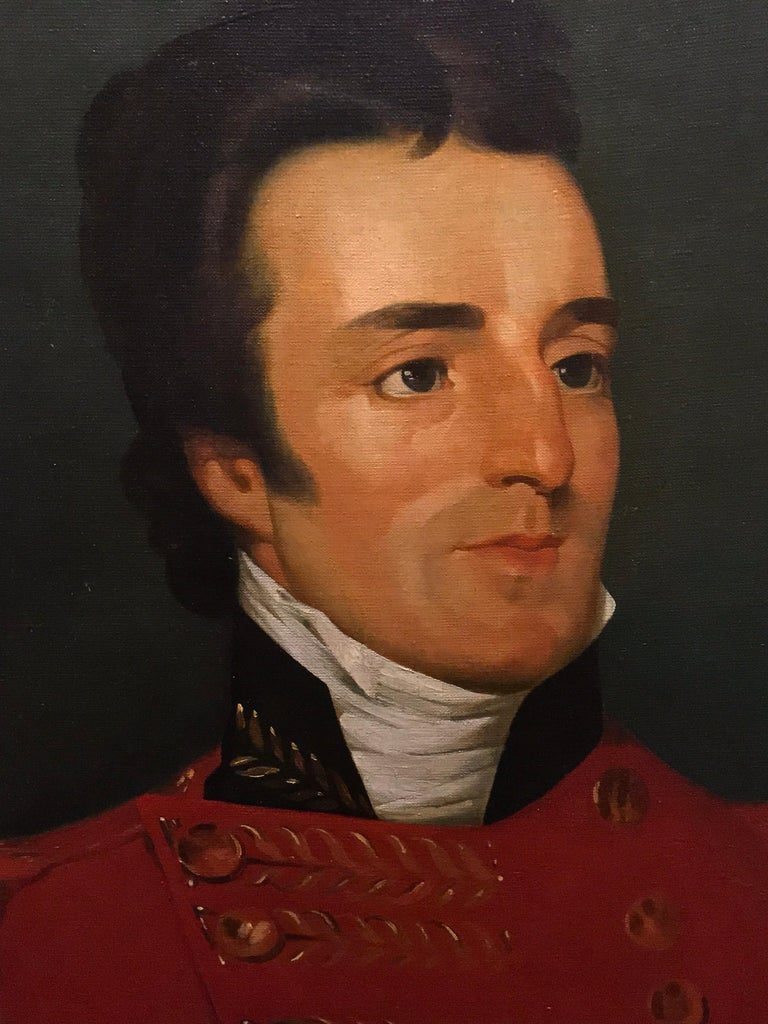 The Duke of Wellington, Arthur Wellesley, Huge Oil Painting For Sale 3
