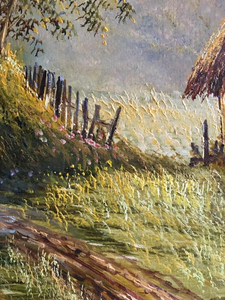 Impressionist Summer Scene,
