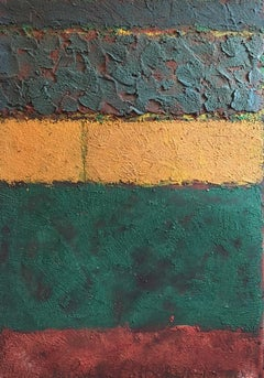 Large Colour Block Abstract, Mixed Medium, Original Painting