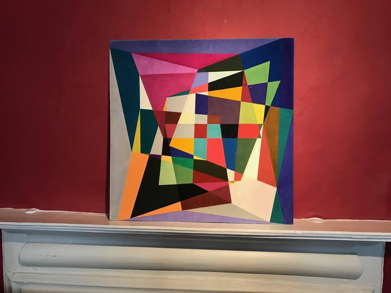 Douglas Herbert Courtenay Auburn Geometric Abstract