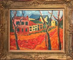 20th Century French Fauvist Oil Painting