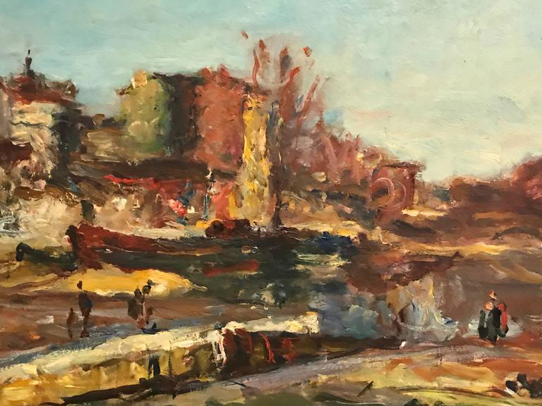 Ren 233 Thomsen Large 1940 S French Impressionist Oil