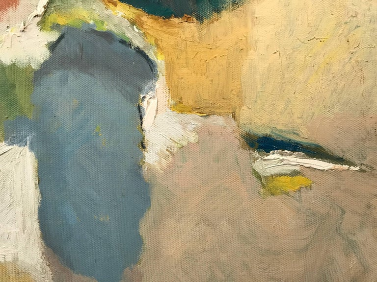 Mid 20th Century British Abstract Oil Painting For Sale 1