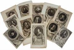 British Aristocrats - Collection of 27 Eighteenth Century Portrait Engravings