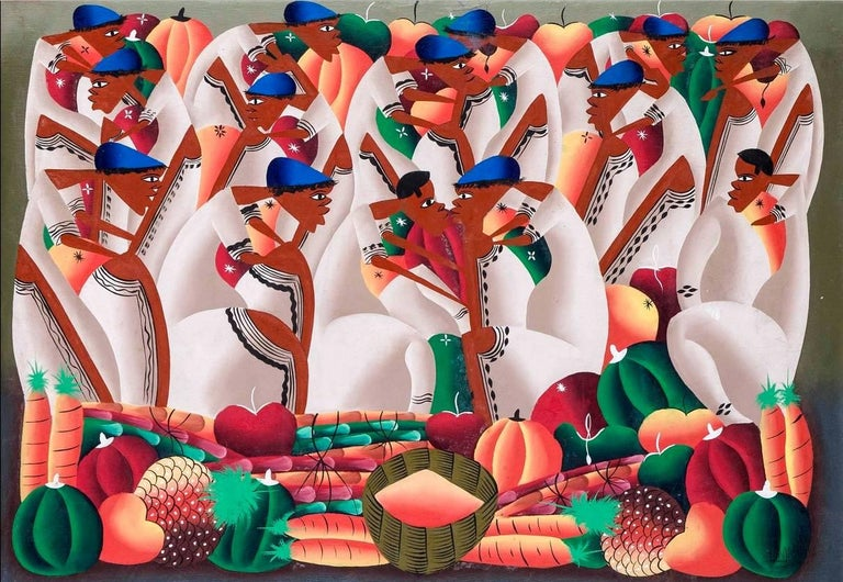 Large & Colorful Abstract Figures