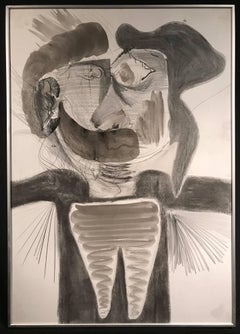 Circle of Pablo Picasso Abstract Portrait