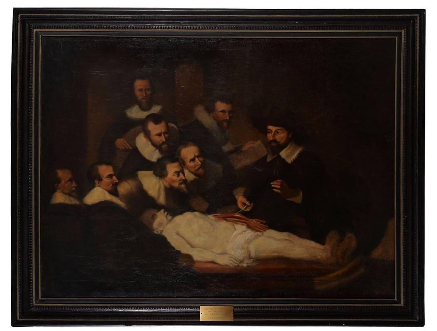 Luxury Who Painted The Anatomy Lesson Image Collection - Physiology ...