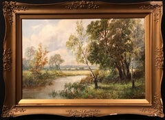 English River Landscape oil painting