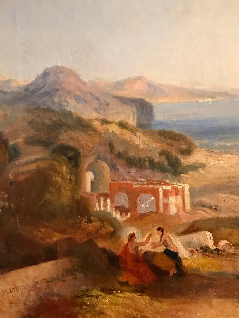 THE BAY OF BAIAE WITH APOLLO AND THE SIBYL  For Sale 3