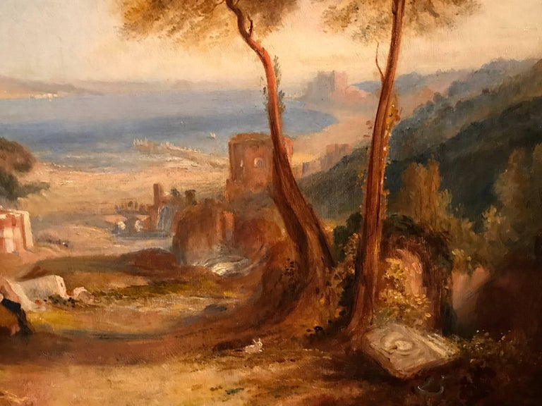 THE BAY OF BAIAE WITH APOLLO AND THE SIBYL  For Sale 1