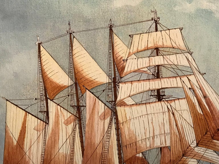 The Esmeralda, Tall Ship of the Chilean Navy For Sale 1
