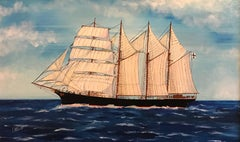 The Mozart, Four Masted Tall Ship