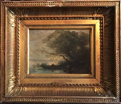 Corot - 19th Century French Barbizon Oil Painting
