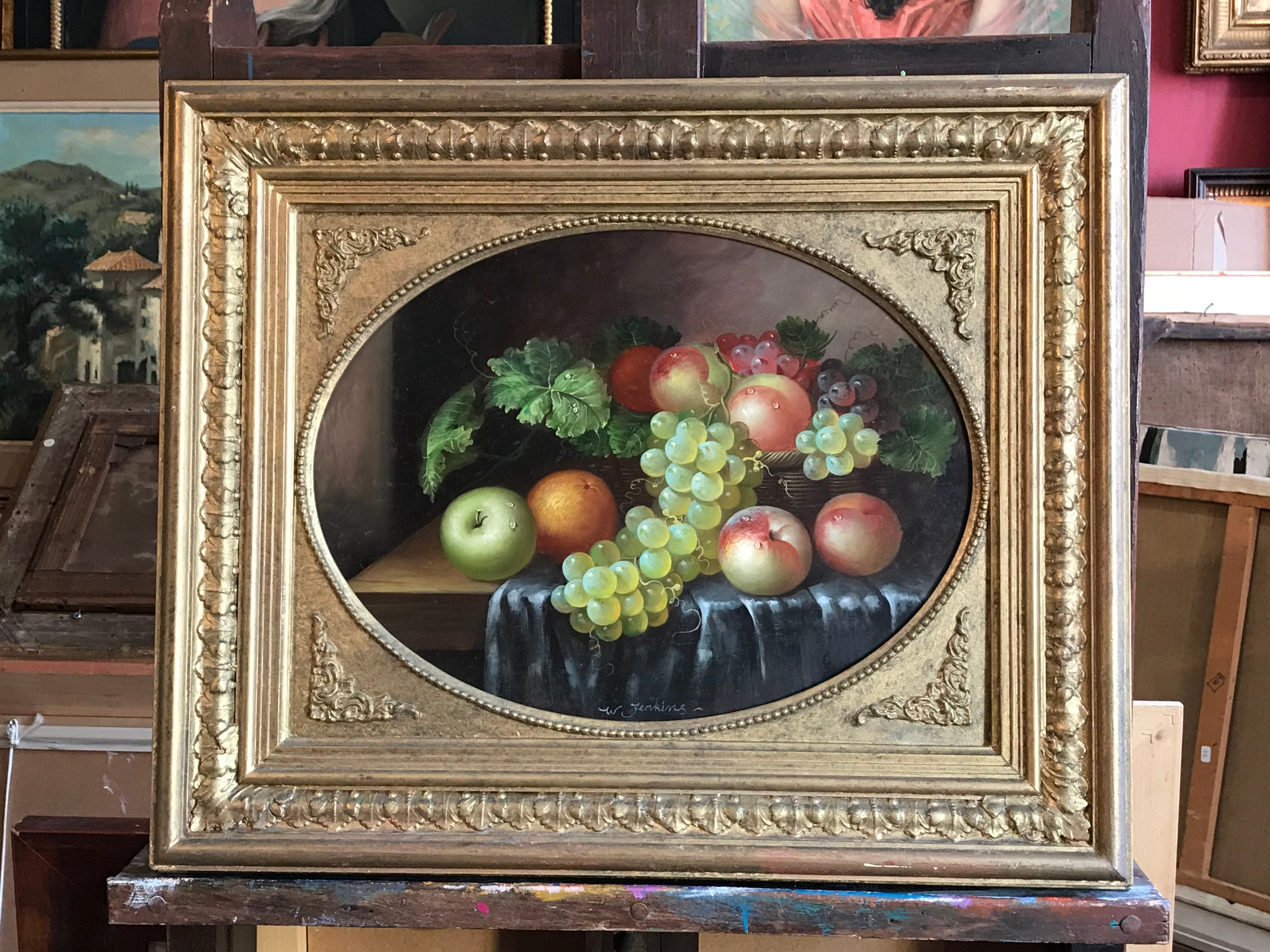 Painting Sumptuous Vegetables Fruits /& Flowers in Oil