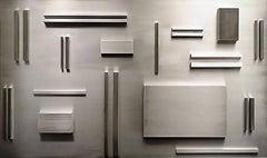 Aluminum Elements Spaced According to Fibonacci