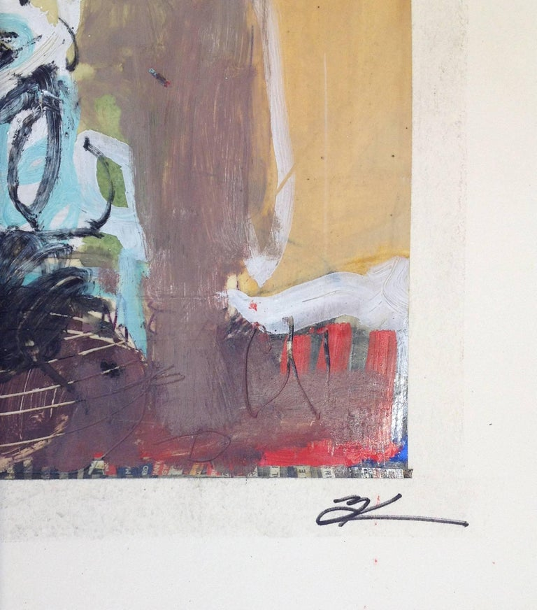 untitled - Contemporary Painting by T.L. Lange