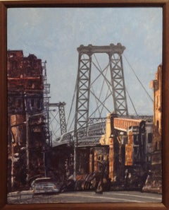 Williamsburg Bridge from the Brooklyn Side