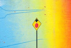 Prepare to Stop - Color Landscape Photograph - Limited Edition