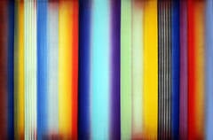 Karimat - Original Modern Abstract Painting - Multicolored Vertical Stripes
