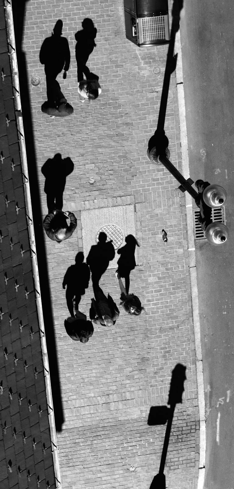 Cassandra zampini birds eye fine art urban photograph black and white contemporary photograph for sale at 1stdibs