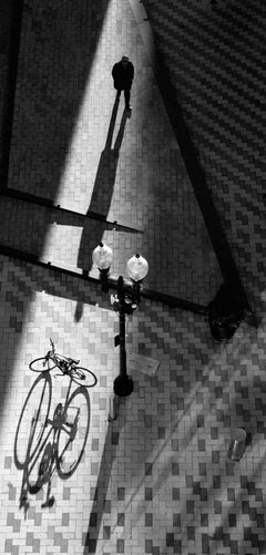 Thought Triangle - Fine Art Photograph - Black and White Contemporary