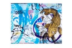 Swimming - Original Urban Painting - Graffiti Inspired