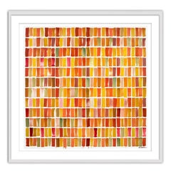 Color Transcription Bach Cello Suite No 4 - Limited Edition Framed Print